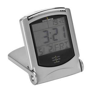 potencial-brindes - Relógio digital de mesa, com termômetro e calendário.