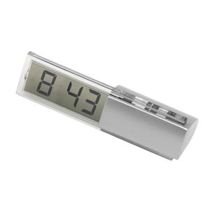 potencial-brindes - Relógio digital de mesa, com formato personalizado.