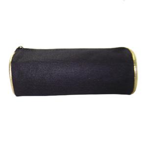 Hoshi Bolsas Promocionais - Estojo necessaire com detalhes na cor dourado.
