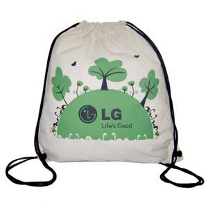 Hoshi Bolsas Promocionais - Saco mochila confeccionada 100% algodão.