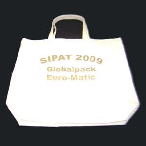 Hoshi Bolsas Promocionais - Sacola ecológica confeccionada 100 % algodão.