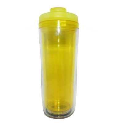Mug Transparente interno Amarelo