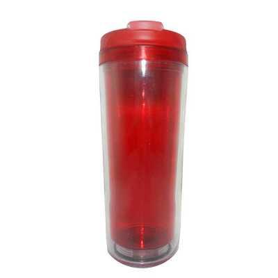 Mugmania - Mug Transparente interno Vermelho