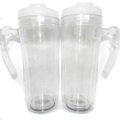 mugmania - Mug com alça Transparente interno