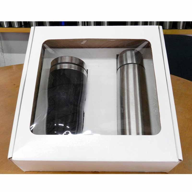 Mugmania - Kit garrafa térmica e caneca Mug.