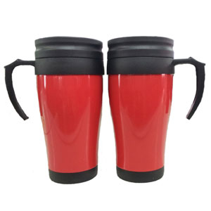 mugmania - Caneca térmica com capacidade para 400 ml.