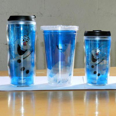 mugmania - Caneca com dupla camada em plastico e acrílico com capacidade para 280ml, copo interno transparente.  Responsável pela economia de 400 copos descartáv...