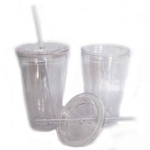Mug com capacidade para 450 ml, dupla camada de acrílico. - Mugmania