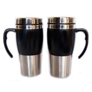 Mug térmico com capacidade para 450 ml, revestimento externo em acrílico. - Mugmania