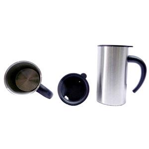 mugmania - Mug térmico com capacidade para 250 ml, revestimento externo em acrílico.