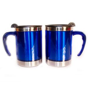 mugmania - Mug térmico com capacidade para 400 ml.