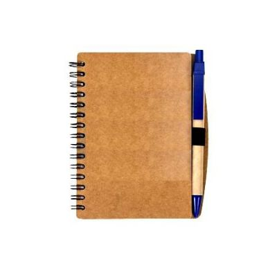 Bloco de anotações ecológico com caneta - Elite Mais