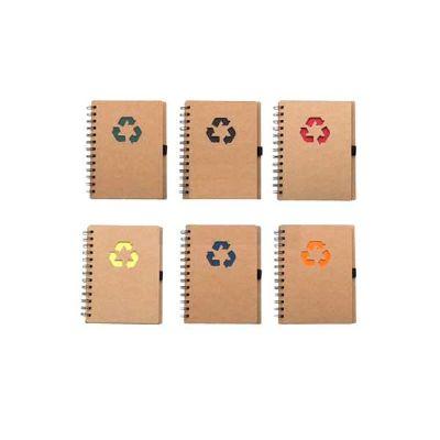 Bloco de anotações ecológico personalizado