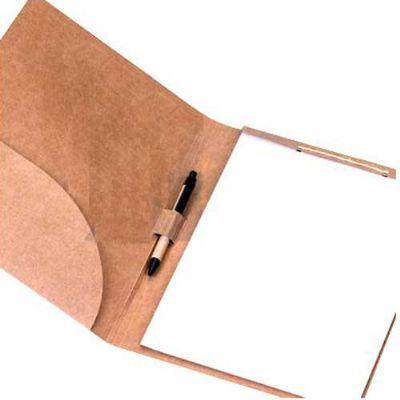 Pasta convenção ecológica com caneta personalizada - Elite Mais