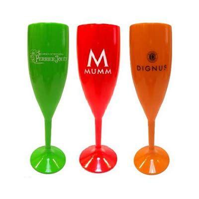 elite-mais - Taça de acrílico para champanhe