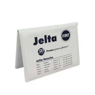 Porta manual de veículosConfeccionado em laminando de pvc Acabamento em solda eletrônica.
