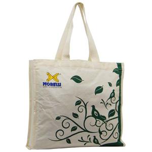 - Sacola ecológica feita em algodão. Encante seus clientes com brindes úteis e personalizados!