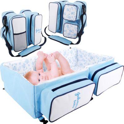 Bolsa maternidade confeccionada em poli�ster 600 com as medidas fechada de 35 cm de comprimento , 32 cm de altura e 25 cm de largura e aberta mede 65...