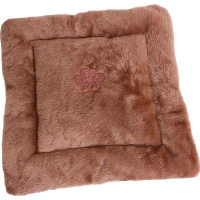 Sak´s - Colchonete confeccionado em pelúcia na parte superior e micro fibra na parte inferior medindo 48 cm de comprimento e 48 cm de largura, enchimento com...
