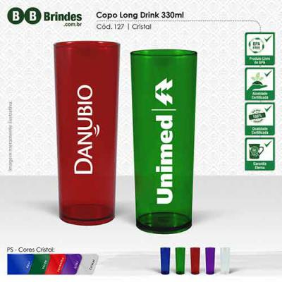 BB Grupo - Copo long drink 330ml CRISTAL