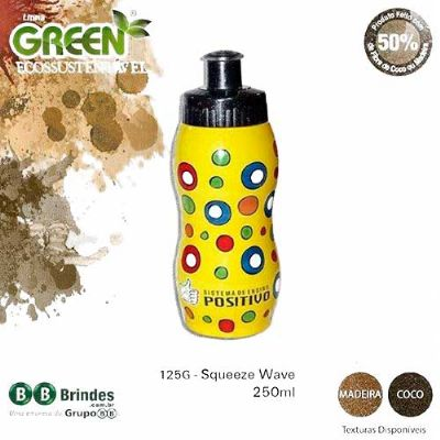 BB Grupo - Squeeze Wave 250 ml Green Coco.