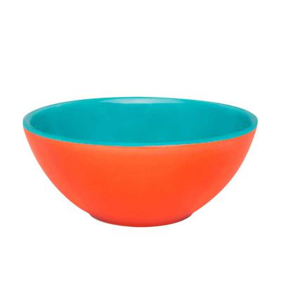 Oxford Gifts - Tigela Bicolor Laranja com Azul