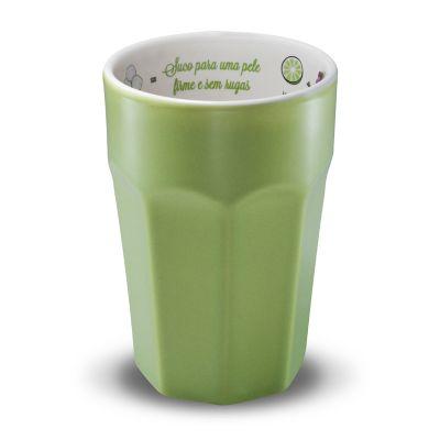 Copo com receita de suco funcional para Pele Firme com 300ml - Oxford Gifts