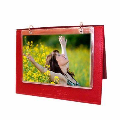 Porta retrato  em couro sintético para 8 fotos tamanho 10 x 15 cm. - DiPort