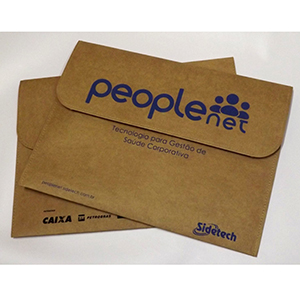Pasta personalizada tipo envelope