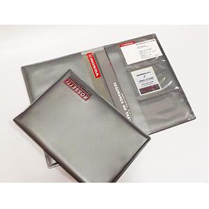 diport - Porta-manual de carros, confeccionado em PVC