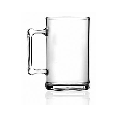 Dwin Soluções Promocionais - Caneca de Chopp, PS cristal com cordão, capacidade 500 ml