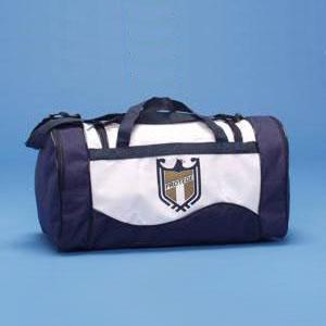 MPB Brindes - Bolsa confeccionadaem nylon 70, com bolsos laterais, alça de mão e de ombro.
