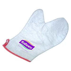 MPB Brindes - Luva térmica confeccionada em tecido brim com forro.