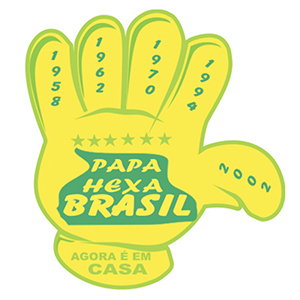 mpb-brindes - Mãos para torcida com motivos da copa do mundo, confira aqui!