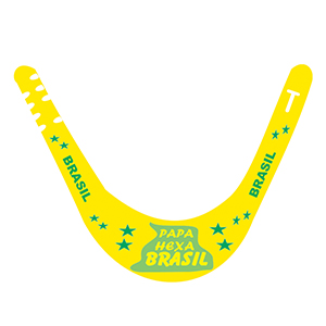 mpb-brindes - Viseira da copa do Brasil