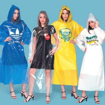 AGP Brindes - Capa de chuva personalizada em diversas cores. Ideal para promover sua marca em shows, eventos e excursões de forma totalmente personalizada.