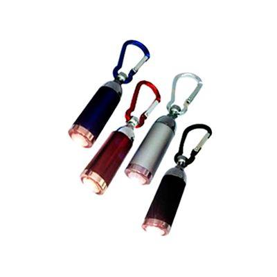 AGP Brindes - Chaveiro lanterna com mosquetão personalizado, confeccionado em diversas cores