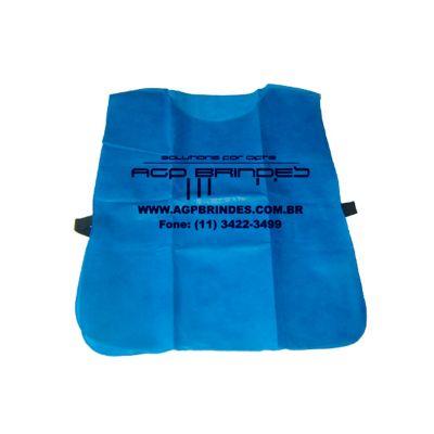 AGP Brindes - Colete personalizado em diversos tamanhos com elástico nas laterais, confeccionado em TNT com gravação em silk scren