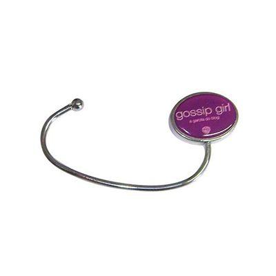 AGP Brindes - Porta bolsa de metal personalizado em formato de gancho com esfera gravada em resina ou a laser