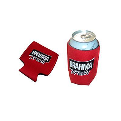 agp-brindes - Porta latas personalizado, confeccionado em neoprene, com estampa. Tornando seu evento mais especial e marcante, este porta lata mantém sua marca em...