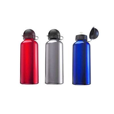 AGP Brindes - Squeeze personalizada, confeccionada em alumínio de diversas cores, com capacidade para até 500 ml e tampa plástica acoplada