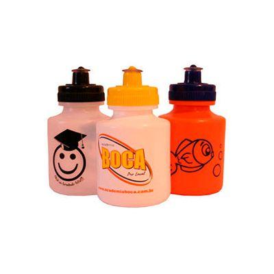 - Squeeze de plástico resistente personalizada, com capacidade para 300 ml e tampa rosqueável. Divulgue sua marca em um produto que vai acompanhar seus...
