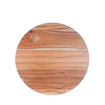 Tábua para Frios em madeira nobre Teca,medindo 27,0 x 1,5cm.