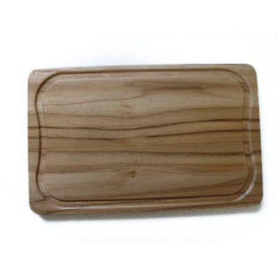 Arte Perotto - Tábua de corte personalizada, confeccionada em madeira nobre Teca medindo 32,0 x 20,0 x 1,2 cm. A rotina de seus clientes facilitada com um produto q...