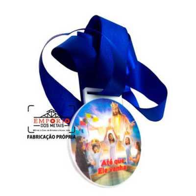 emporio-dos-metais - Medalha em acrílico