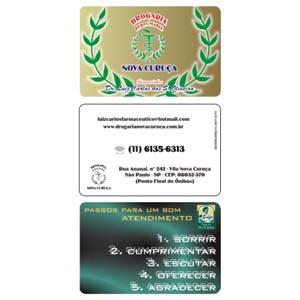 sevencard - Cartão em PVC.