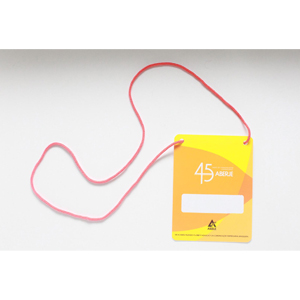 sevencard - Credenciais com cordão.