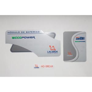 sevencard - Display de equipamento com gravação personalizável.