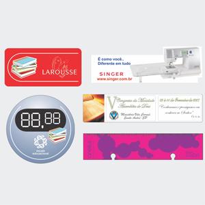 Marca página com gravação personalizável. - Sevencard