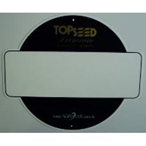 Placa com gravação e modelo personalizáveis. - Sevencard
